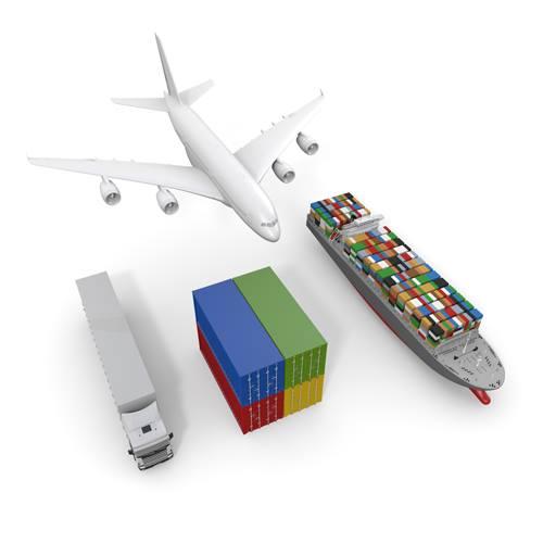 飛行機、船、コンテナー