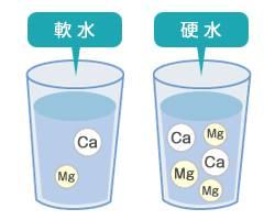 軟水と硬水の違い