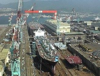 造船所の写真