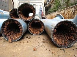 埋設されていた水道管