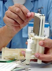 電気分解水生成器の電極板
